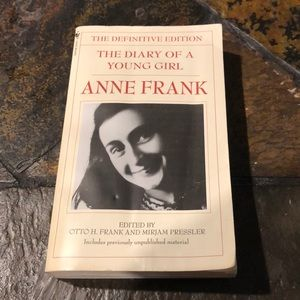 2/$10 Anne Frank - the diary of a young girl